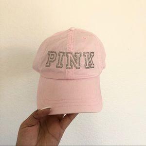 NWT Pink Victoria's Secret Blush Pink Hat